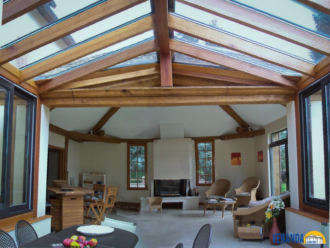 Construire une veranda en bois soi meme - Construire sa maison en bois soi meme en kit ...